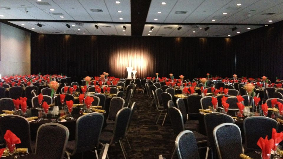 The Devon Hotel Grand Auditorium Conference Room Cabaret Set up