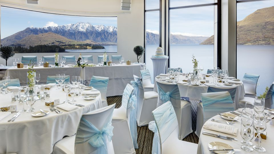 Heritage Queenstown Icon Conference Room Wedding Set up