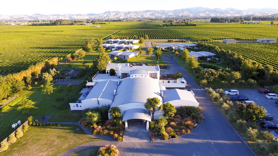 Heritage Collection Marlborough Vintners Hotel Exterior Sunset Aerial